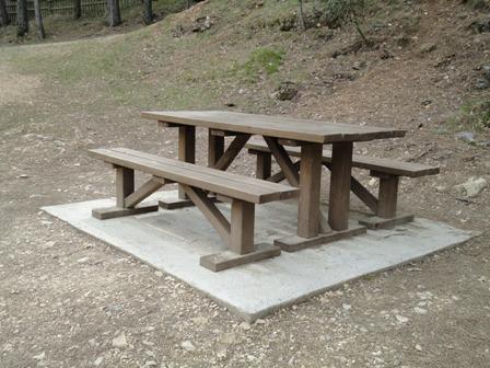 Taula de picnic Cardener