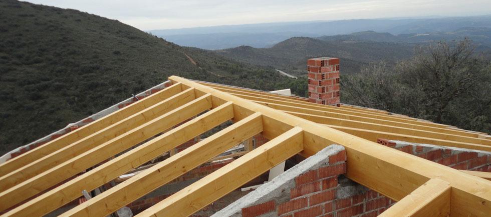 Tipos de cubiertas de madera fustes graus - Tipos de cubiertas inclinadas ...